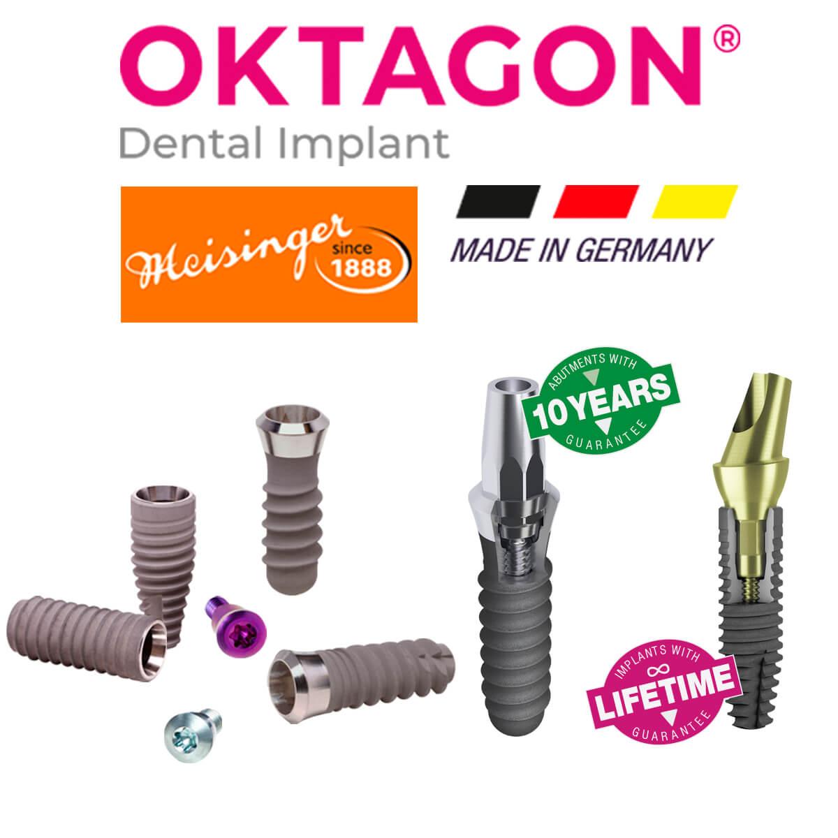 Oktagon dental implant